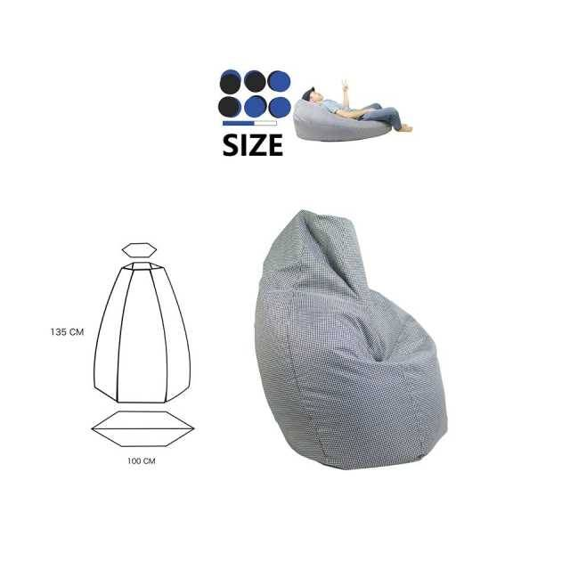 City Bean Bag Sacco Bean Bag Large size