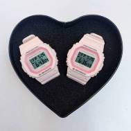 G-Shock Pink Out Digital Couple Watch DW5600 ( First Copy )