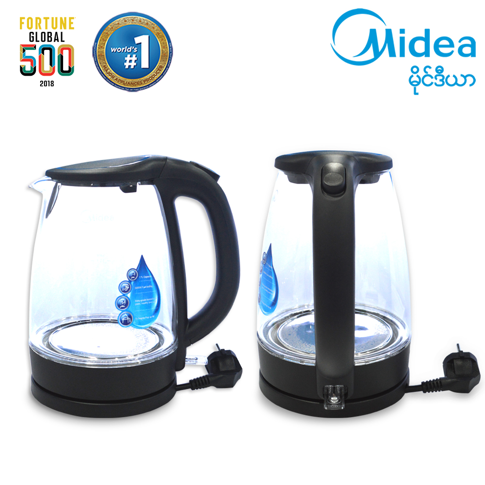 Midea Electronic Kettle 1.7 Liter (MK-17G02A)