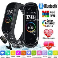 M4 Smart Band Fitness Tracker Sport Bracelet Heart Rate Blood Pressure Waterproof Monitor Heart Rate