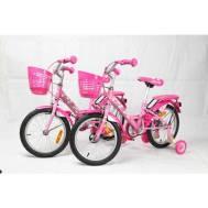 "La Bicycle HELLO KITTY 16"" PINK CANDY CHERRY 01+BK-MCI-261 PINK TWIN PACK (B16LA19KIT00PKCD)"