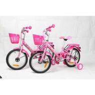 "La Bicycle HELLO KITTY 16"" PINK SUMMER SHELL 01+BK-MCI-261 PINK TWIN PACK (B16LA19KIT00PKSM)"