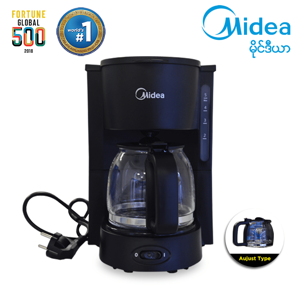 Midea Coffee Maker 0.75 Liter (MA-D03B)