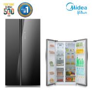 Midea Side By Side Refrigerator 530 Liter (HC-689WEN-GB)