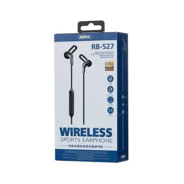 Remax IPX7 Waterproof Wireless Sport Type Earphone (RB-S27)