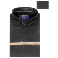 DICE Men Shirt 1040ASS Bl 1040A - Black