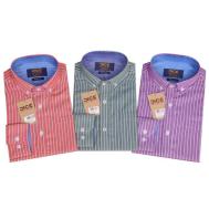 DICE Men Shirt LS 3Stripes 1207