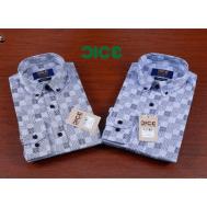 DICE Men Shirt LS B&D 1093