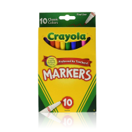 Crayola 10 ct. Fine Line Markers - Classic (587726) (CRA0020)
