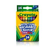 Crayola 24 ct. Ultra-Clean Washable Crayons (526924) (CRA0016)