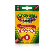 Crayola 8 ct. Crayons (523008)(CRA0010)