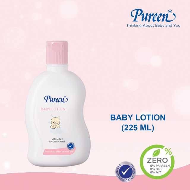 Pureen BABY LOTION 225 ML (NEW) (31BBT410225)