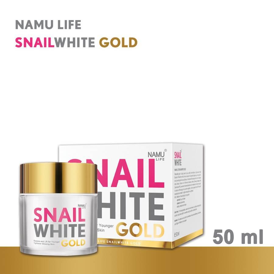 Namu Life SnailWhite Gold 50 ml >> Get NAMU LIFE SNAILWHITE GOLD SERUM (6ml) 6 Pcs Free
