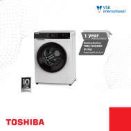 TOSHIBA  8.5Kg Fully Auto Washing Machine Front Load BLDC Inverter (TWBH-95M4MM)