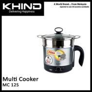 KHIND 1.2 Liter Multi Cooker - Black (MC 12S)