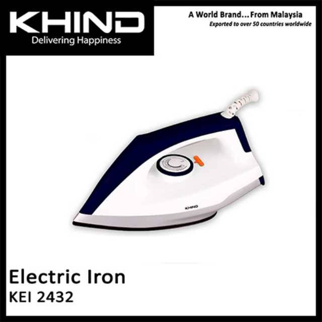 KHIND Electric Dry Iron KEI-2432