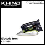 KHIND Electric Dry / Spray Iron (KEI 2430) Black
