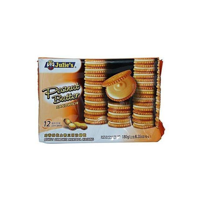 Julies Peanut Creamy Butter Biscuits 180/200Gm