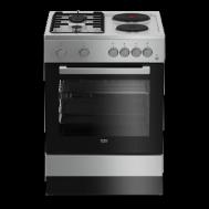 Beko Freestanding Cooker - FSE64010DSS
