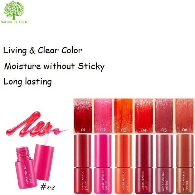 Nature Republic Pure Shine Gel Lip Tint 9ml (NRL-26)