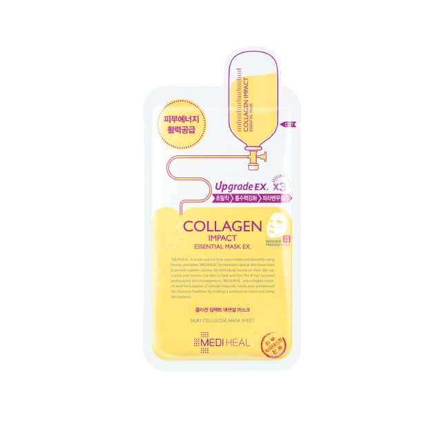 Mediheal Collagen Impact Mask(Buy 10,000 ks >> Get Tea Tree Care Soluction Mask( 1 ) Pcs)