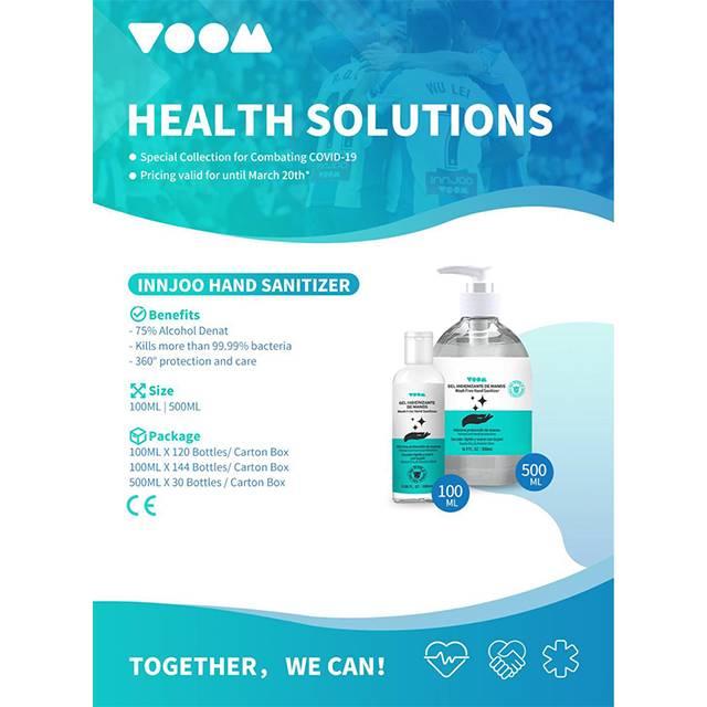 InnJoo Hand Sanitizer (100 ml) (3 Pcs)