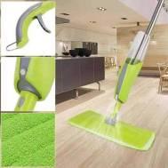 Home Sweet Home Water Spray Mop (ရေဖြန်းကြမ်းတိုက်တံ) Yellow