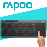 Rapoo K2600 Wireless Touchpad Keyboard