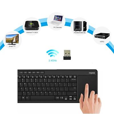 Rapoo K2600 Wireless Touchpad Keyboard