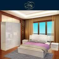 Cozy Marshmallow Bedroom Set