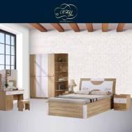 Cozy Gingerbread Bedroom Furniture Set