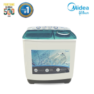 SV: Midea Semi-Auto Washing Machine 8 Kg (MTE80-P502S)