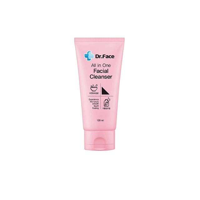 Dr.Face all in one Facial Cleanser ( Pink )
