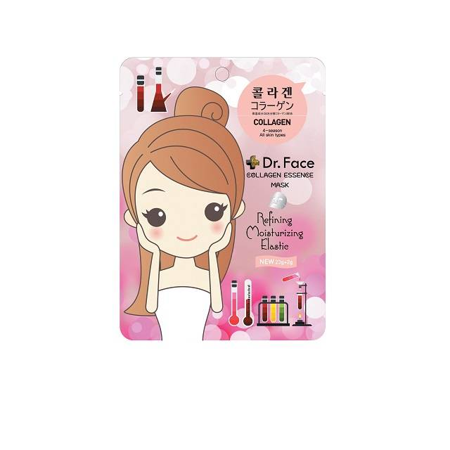 Dr.face Collagen Essence Mask (Buy One Get One)