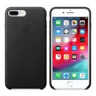 Apple iPhone 7 Plus (Leather Case), (Black)
