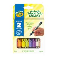 Crayola My First Crayola Washable Tripod Grip Crayons (16 ct. Primary)(811461)(CRA0058)