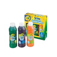 Crayola 3 ct. Washable Bold Fingerpaints, Secondary Colors - 8 oz (551311) (CRA0050)