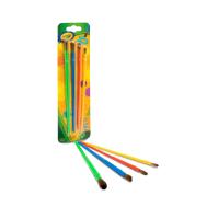 Crayola 4 ct Paint Brushes (053515) (CRA0048)