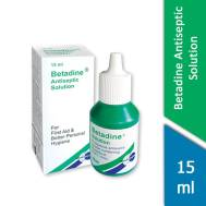 Betadine Antiseptic Solution 15ml