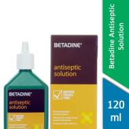 Betadine Antiseptic Solution 120ml