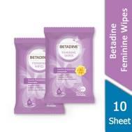 Betadine Feminine Wipes 10 Sheet