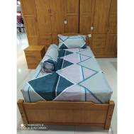 KCC (3pcs) Fitted Single Bedsheet Design 1