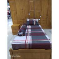 KCC (3pcs) Fitted Single Bedsheet Design 5
