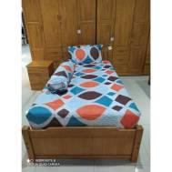 KCC (3pcs) Fitted Single Bedsheet Design 6