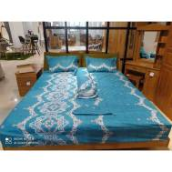KCC (5pcs) Fitted Double Sheet Design 4