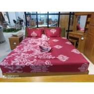 KCC (5pcs) Fitted Double Sheet Design 5