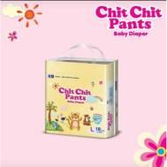 Chit Chit Pant baby Diaper (Pant) L (18 x 8 Pack) (Buy (2) – Get (1) (Same Item) )