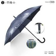 TRI Fiber Handle Umbrella - Black ( UM-189965 )