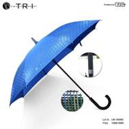 TRI Fiber Handle Umbrella - Blue ( UM-189965 )