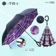 TRI Reverse Design Umbrella - Violet ( UM-18893 )